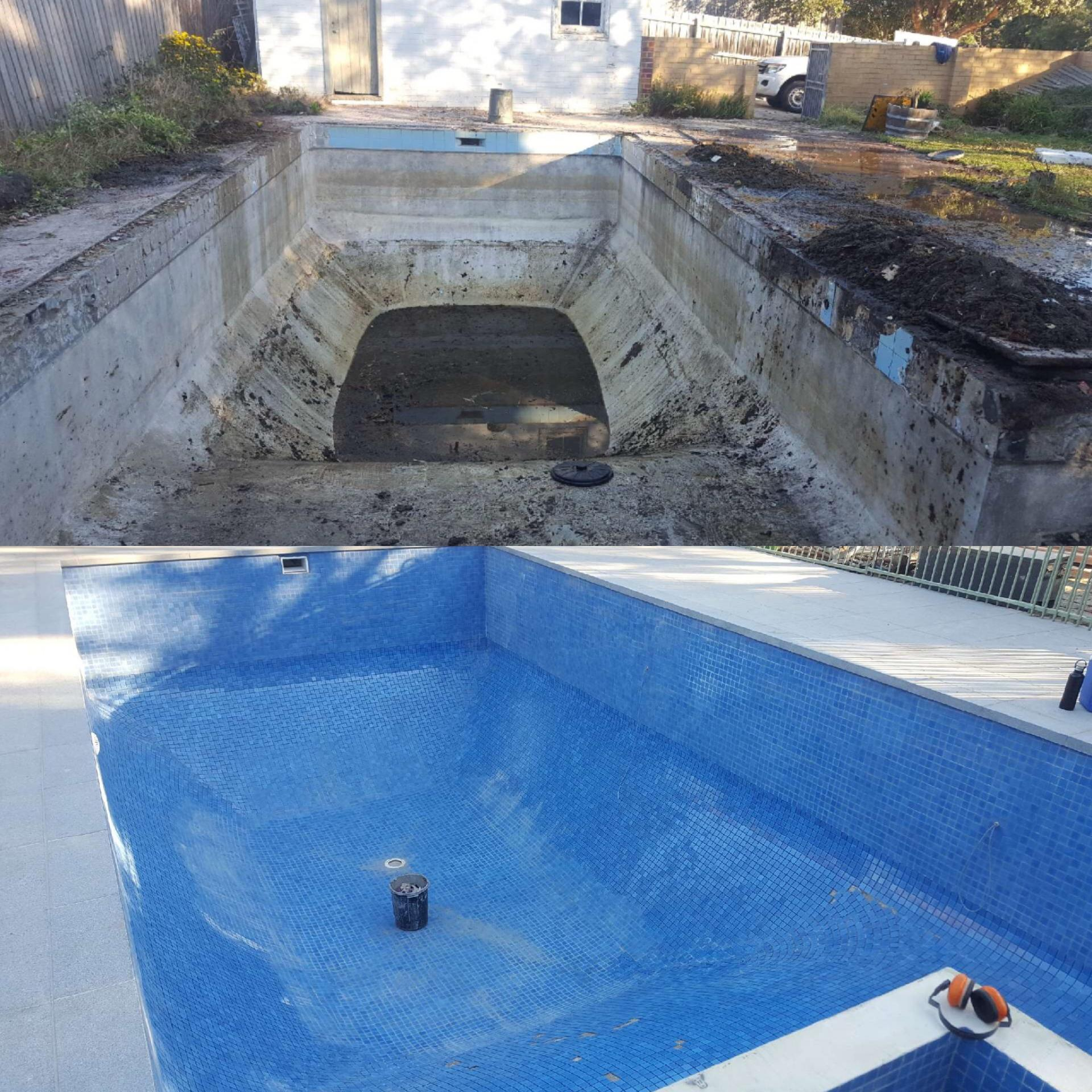 Pool Renovation Before